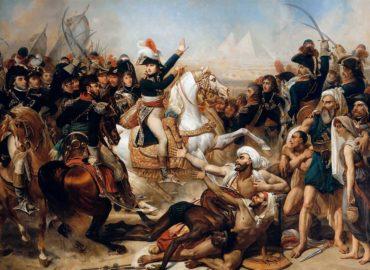 Bataille pyramides Bonaparte Baron Antoine-Jean Gros