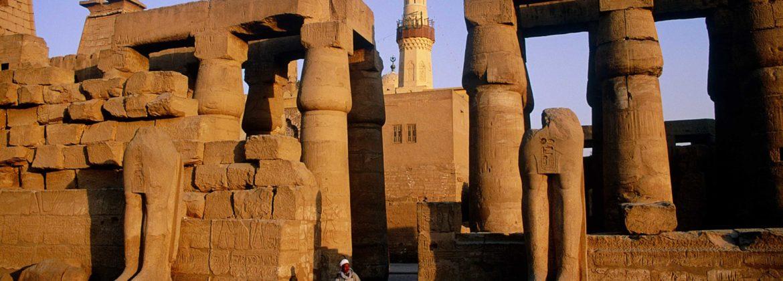 Ville de Louxor Egypte