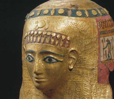 Masque de momie de Hor (Ptolémées, 100–50 av. JC)